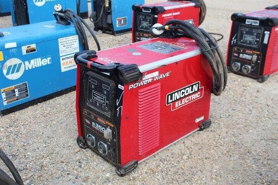 Lincoln Electric S350 PowerWave (SN: U1161102780)