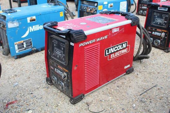 Lincoln Electric S350 PowerWave (SN: U1160705668)