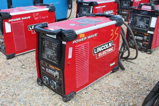 Lincoln Electric S350 PowerWave (SN: U1160800769)