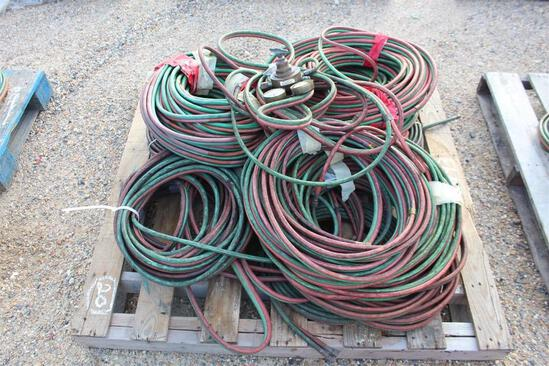 Pallet of Cutting Torch Hoses