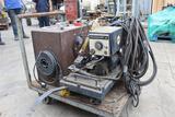 Miller Matic Wire Feeder 30E w/Cart