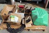 Pallet of Misc Items, Come a longs and Tooling