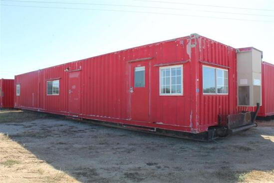 16 FT x 60 FT INTEGRATED 1/8 INCH THICK STEEL EXTERIOR CONTAINER HOME