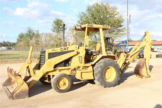 CATERPILLAR 416 BACKHOE LOADER