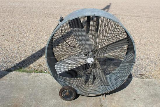 SHOP FAN, ELECTRIC, WHEEL MTD