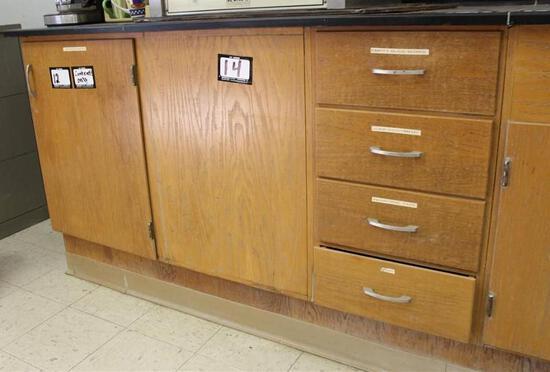 """66"""" x 30"""" 2 Door 4 Draw Cabinet Counter Top"""