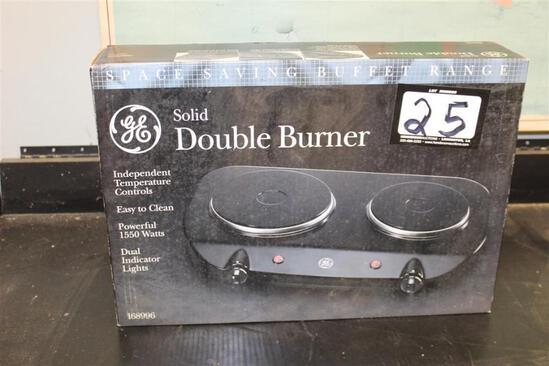 GE Double Solid Burner Model #168996