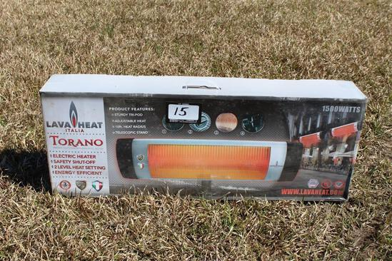 TORANO Indoor/Outdoor Infrared Patio Heater