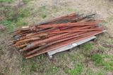 Pallet of Fence Posts