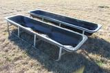 Lot of (2) Feed Troughs