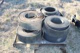 Pallet of Hay Baling Belts