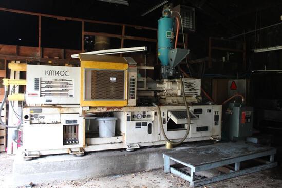 Kawaguichi KM140C Plastic Injection Molding Machine