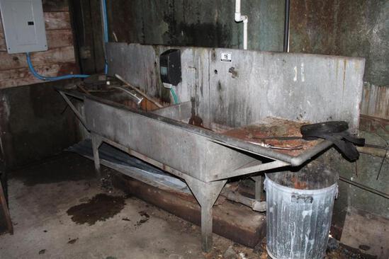 Double Galvanized Sink