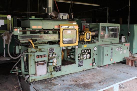 1980 Japan Steel Works N40BII Injection Molding Machine