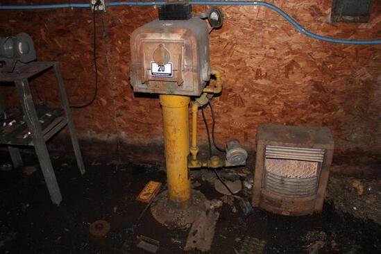 Johnson Gas Appliance Co Furnace, Furnace: 70, Serial:1096-P, Input: 70000