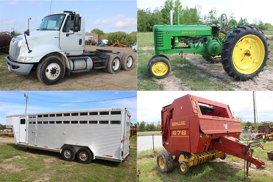 Farm Equipment & Real Estate Auction