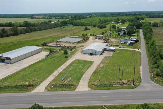 6.16+/- Acres of Commercial Property w/6000 SF Commercial Building