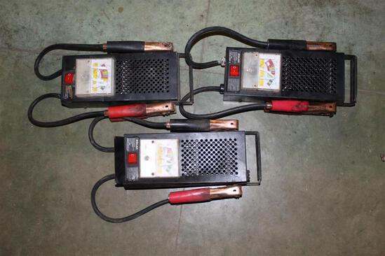 LOT OF (3) BATTERY LOAD TESTERS