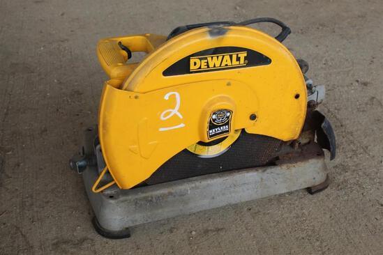 DEWALT D28715 ELECTRIC 14IN CHOP SAW