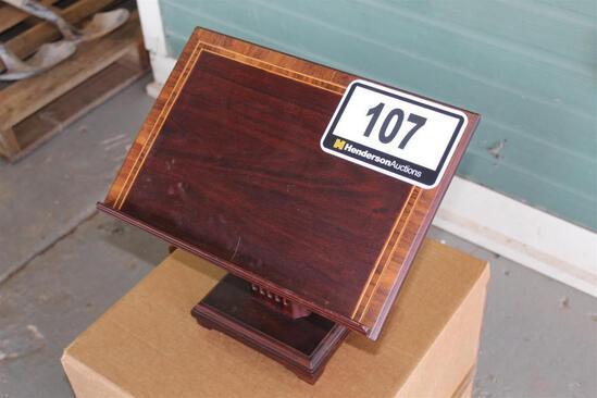Small Wood Podium