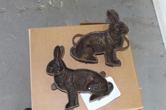 Metal Bunny Mold