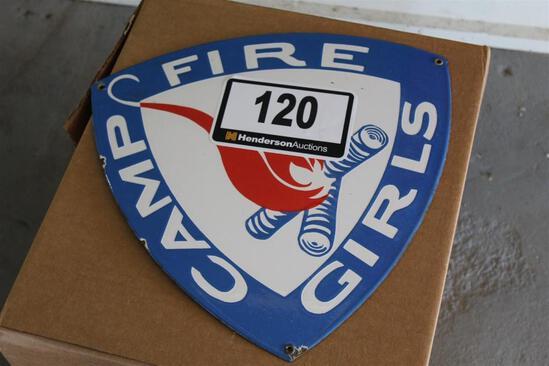 Camp Fire Girls Sign
