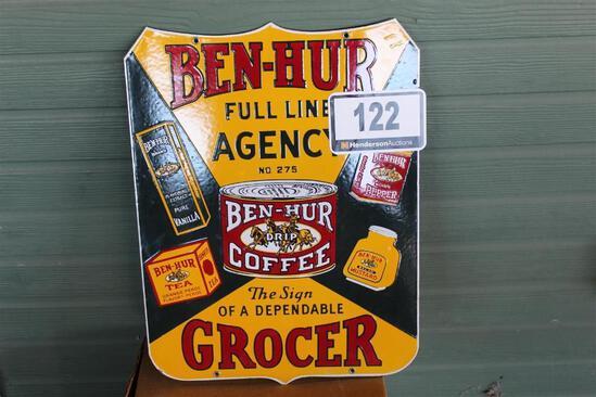 Ben-Hur Grocer Sign