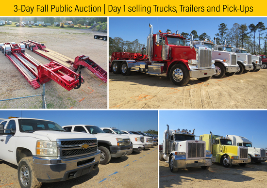 3-Day Fall Auction | October 14th | Day 1
