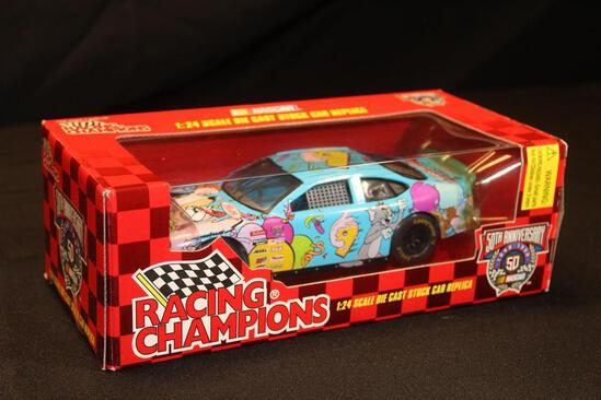 1998 Racing Champions 50th Anniversary #9,1:24 Scale Die Cast Stock Car replica
