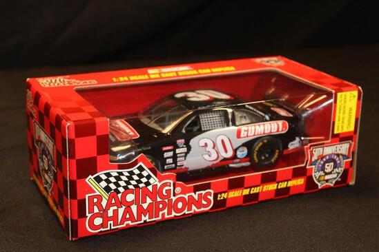 1998 Racing Champions 50th Anniversary #30 1:24 Scale Die Cast Stock Car replica