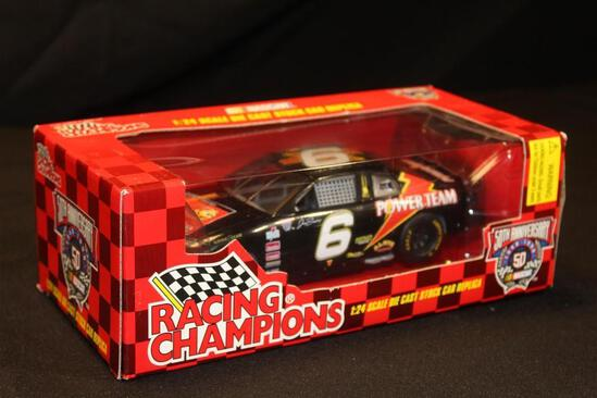 1998 Racing Champions 50th Anniversary #6, 1:24 Scale Die Cast Stock Car replica
