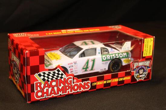 1998 Racing Champions 50th Anniversary #41, 1:24 Scale Die Cast Stock Car replica