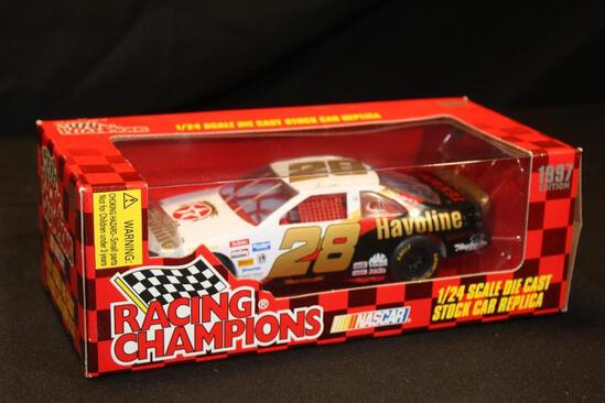 1997 Racing Champions 1:24 #28, Scale Die Cast Stock Car Replica