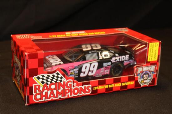 1998 Racing Champions 50th Anniversary #99, 1:24 Scale Die Cast Stock Car replica
