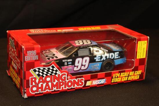 1996 Racing Champions #99, 1:24 Scale Die Cast Stock Car Replica