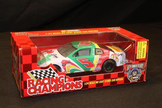 1998 Racing Champions 50th Anniversary #5, 1:24 Scale Die Cast Stock Car replica