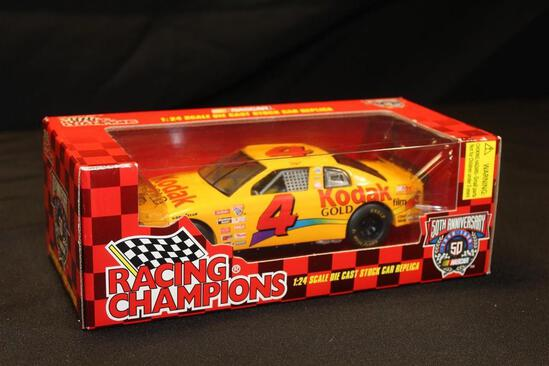 1998 Racing Champions 50th Anniversary #4, 1:24 Scale Die Cast Stock Car replica