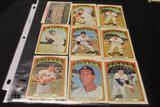 Lot of (9) Baseball Cards, Mike Lum (Braves), Dusty Baker (Braves), Gil Garrido (Braves), Ron Herbel