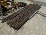 PALLET OF APPOX 12FT METAL TRACK