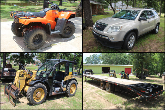 Construction, Vehicles, Trailers and More Auction