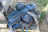 PALLET OF 2IN AND 3IN WATER HOSES