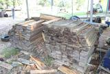 LOT OF WOOD BOARDS