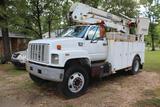1998 GMC C7500 Aerial Bucket Truck