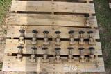 PALLET OF 1IN BRASS SHUT OFF VALVES
