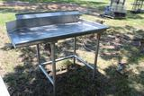4FT STAINLESS TABLE