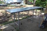 8FT STAINLESS TABLE
