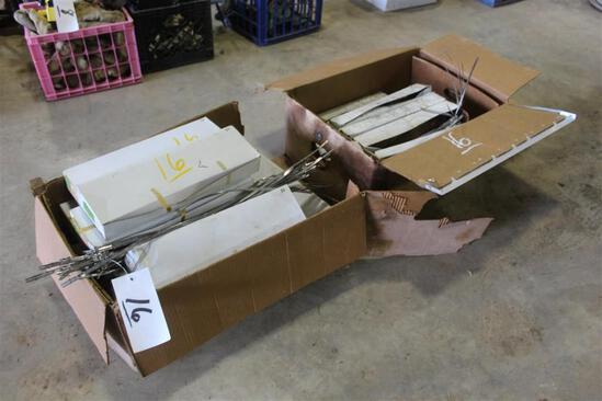 BOX OF CLAMPS