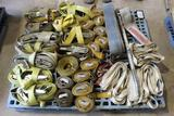 LOT OF RIGGING AND RATCHET STRAPS
