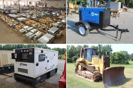 Construction and Industrial Equipment Auction