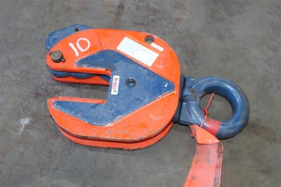 CROSBY 2'' 6 TON MATERIAL CLAMP